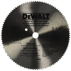 Saw Blade For Crosscuts