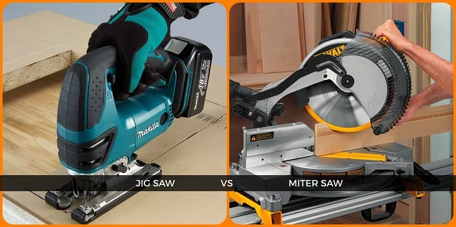 Difference Between Miter Saw And Jig Saw