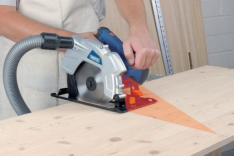 laset cutting guide for circular saw