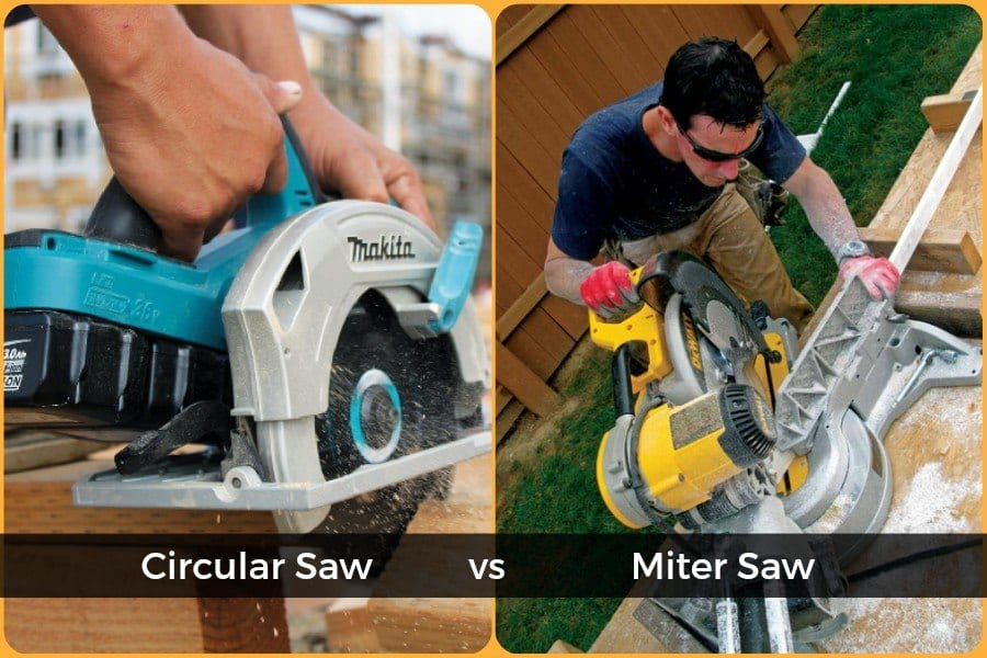 Circular Saws Vs. Miter Saws Comparison