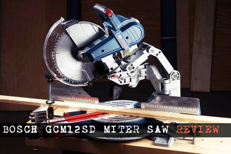 Bosch GCM12SD Miter Saw