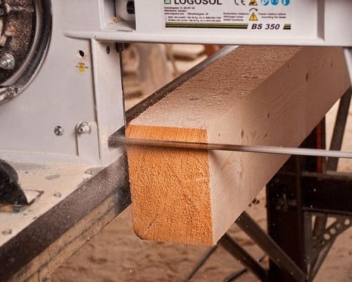woodworking with band saw
