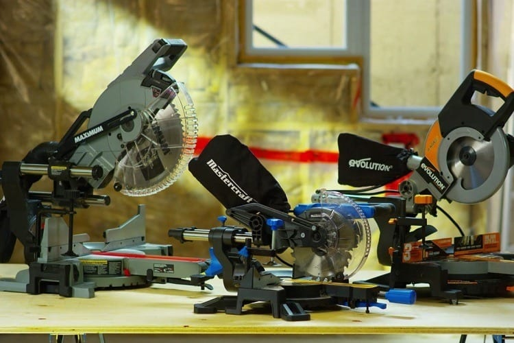 different types of miter saw