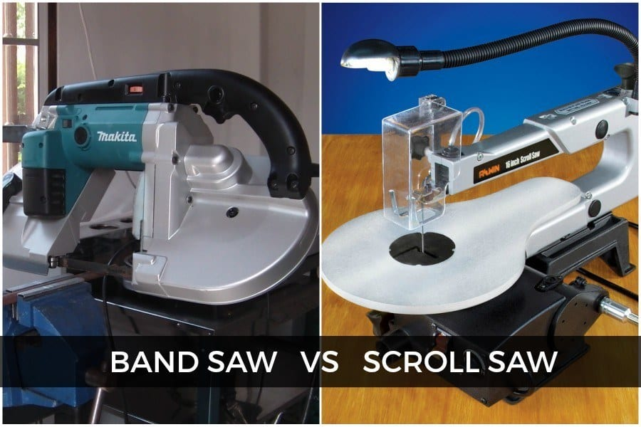 Difference Between Band Saw And Scroll Saw