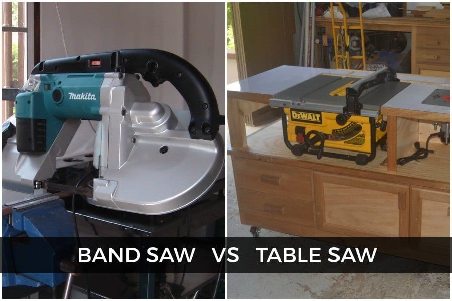 Difference Between Band Saw vs Table Saw