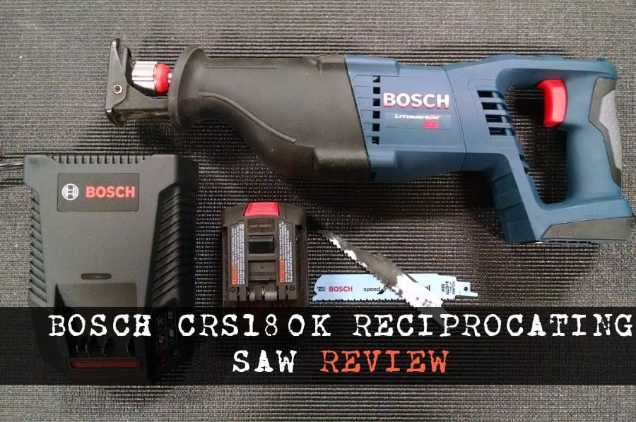 Bosch CRS180K Reciprocating Saw
