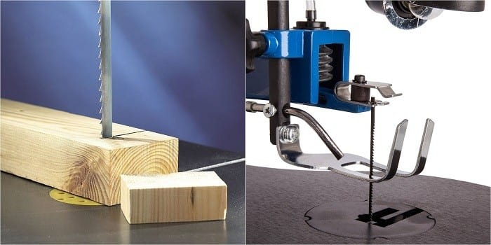 comparison between band saw and scroll saw