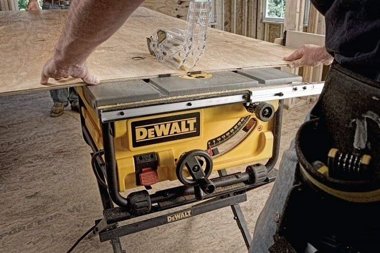 DEWALT DWE7480XA table saw review