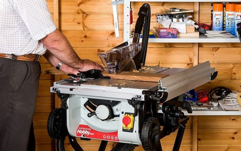 table saw for woodworking projects