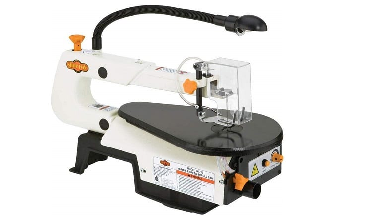 Shop Fox W1713 Scroll saw