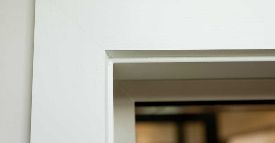 wooden architrave example